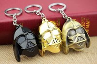 Wholesale Superhero Keychain Star Wars Knight Dark Warrior Darth Vader Classic Keychain Key Chain Ring Movie Jewelry