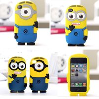 Cheap Despicable Me case Best Cartoon Silicone