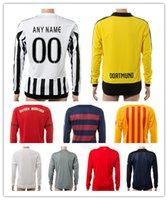 season - Customized New season Club long sleeves Soccer Jerseys Shirts Discount Cheap Football Tops Soccer Wear from yakuda s Store