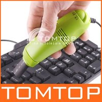 Wholesale MINI USB VACUUM KEYBOARD CLEANER for PC LAPTOP freeshipping Dropshipping order lt no track