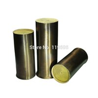 Wholesale Universal Metal Honeycomb cell Cylinder shape TWC Three way catalytic Converter Diameter mm
