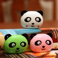 Wholesale mini cute cartoon panda design mp3 music player colors with earphone and USB cable and retail box no sd card
