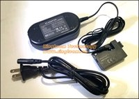 Wholesale ACK E5 ACKE5 Digital Camera AC Power Adapter Kit for Canon EOS Rebel XSi XS D D D Kiss F X2 X3 T1I