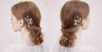 Wholesale 2015 Vintage Bridal Jewelry Stunning Hair Comb Bridal Jewelry Accessories Rhinestones Hair Brush Miss Diva W6005