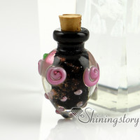 pet urns - glass vial for pendant necklace cremation urns for pets pet remembrance jewelry jewelry urns for ashes