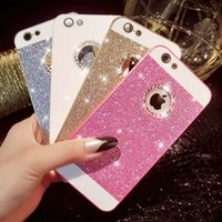 For Apple iPhone bling iphone case - Glitter Bling Rhinestone Hard Case Sparkling Cover for iPhone5 S G iPhone G