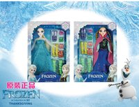 baby doll outlet - 18 OFF hot sale frozen Children playsets TWO Baby Kids Toys Hands DO Girl Toys Children Dolls outlets pcsELSA ANNA pcsshoes