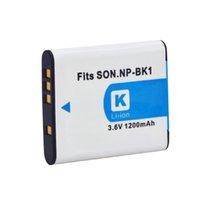 battery overheat - NEW Camera Battery V mAh NP BK1 NPBK1 Battery overcurrent and overheat protection for Sony DSC S950 DSC W180
