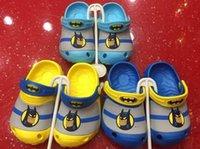 Wholesale 72pcs D cartoon beach Slipper the hulk superHero beach sandal slippers children boys girls size