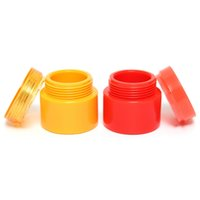 lotion containers - Hot Sale Empty Jar Pot Cosmetic Cream Lotion Bottle Box Container Screw Lid Red Yellow Beautiful Design
