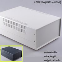 Wholesale Two colors ip55 iron metal enclosure instrument box iron box electronic cases diy juntion box mm W325