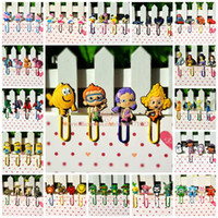 bamboo music - 1000pcs Paper Clips Bookmarks for Book Page Holder School Office Supplies Despicable Me Little Pony Avengers Princess Cars Bubble Guppies