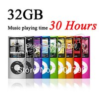 Wholesale Cheap MP3 Music Playing Time Hours New GB Slim quot th LCD MP3 Player EBOOK Music FM Radio Video COLOR Silicone case Gift