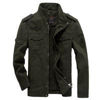 army combat coat - Fall new high quality jacket german army badge classic parka military combat mens jackets men s causal militar coat windbreaker