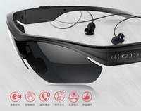 k2 - NEW K2 Bluetooth Sunglasses Headset Sports K2 A Phone called Wireless Sun Glasses Music Call Headphone for iphone samsung HTC Smartphones