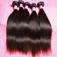 aliexpress hair - Malasian Virgin Hair Straight Bundles Machine Weft Natural Black Hair cheap aliexpress hair extensions