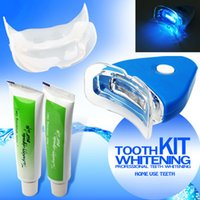 Wholesale 2015 Most Popular Tooth Teeth Whitening Whitener Kit Dental Oral Gel Care Treatment Light Brightening Whiten Set