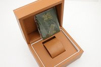 Wholesale brown watch box for new watches box
