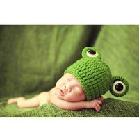 baby boy blankets lot - 5 piece popular Frog Prince hat green bady hat handmade baby blanket children knitted hat big flower baby cap