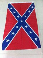 Wholesale Two Sides Printed Flag Confederate Rebel Civil War Flag National Polyester Rebel Flag Banner Printed Flag Hot Sale