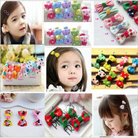 fashion children hair clip - Multi Colors Children Hair Bows Baby Girls Favorite Hair Accessories Girls Hair Clips Children new fashion hair bows clips