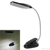 Wholesale Flexible USB Battery Power LED Light Clip on Bed Table Desk Lamp EGS_371