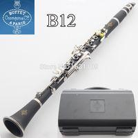 Wholesale New Buffet Clarinets Crampon Paris Klarinet Klarnet Clarinete B12 Black Clarinet instrumentos musicais