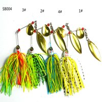 bass the fish - The new road sub bait g Fluff beard metal lures buzzbait road super Fishing tackle Spinnerbait Bass Walleye Crappie