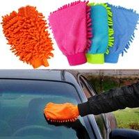 Wholesale 1PCS Super Mitt Microfiber Car Auto Care Valeting Dust Clean Wash Glove Towel A1094