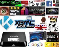 Wholesale M8 Android TV Box Quad Core Latest K HD FULLY LOADED Android TV Box WiFi KITKAT KODI XBMC