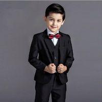 baby wedding attire - 2015 baby kids boys blazers blue plaid clothing boys suits for weddings attire formal wedding boy children suit flower boy dress q05