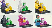 big league minis - 480pcs Building Blocks Super Heroes Minifigures Justice League Big Hero Bot Fight Bricks Action Mini Figure Kids Toys