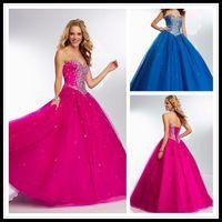 aqua specials - Vintage Royal Blue Aqua Quinceanera Dresses Ball Gown Sweet Dresses Tulle Special Occasion Events Evening Dresses Trajes de Quinceaneras