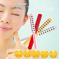 facial massager - Germanium Granule Face massager facial Skin Care Massage roller face Beauty roller with piece germanium stones