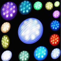 Wholesale Hot Sale remote control Multi color RGB w Par56 led swimming pool light Led swimming pool bulb lamp lights stock in USA DE
