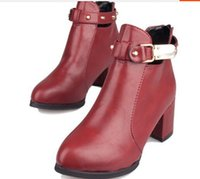 ladies leather boots - 2014 Womens Motorcycle Boots Faux Leather Pointed Toe Women Ankle Boots Casual Ladies Autumn Ankle Strap Booties Shoes