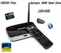 Wholesale Vensmile XBMC CS918G Plus Android TV Box Amlogic S805 Quad Core GB RAM GB ROM G G WIFI P HD media player