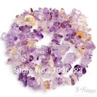 ametrine jewelry - mm Pretty Ametrine Quartz Freeform Gravel Loose Beads Strand quot Jewelry Making w366