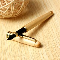 Wholesale Pieces Fashionable Classic Wooden Fountain Pen Black Ink Comfortable Excellent Quality for Hand Smooth Writing For Gifts