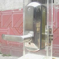 Wholesale Zinc alloy interior mechanical password handle door lock keyless push button code door lock waterproof