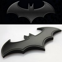 batman emblem - 2015 Newest BATMAN Superhero VS Hulk Goku Chrome Metal Car Emblem D Sticker Badge Auto Decoration Vehicles Decals Hero Return Styling Logo