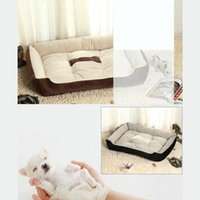 Wholesale 2015 best selling pet mat fall and winter warm pet nest pad puppy lovely clothing beds plus size pets supplies