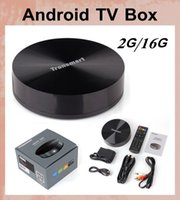 Cheap tv digital box Tronsmart Vega S89 Amlogic S802 Quad Core Android TV Box 2G 16G HDMI Bluetooth WiFi Smart TV Receiver vs skybox OTH090