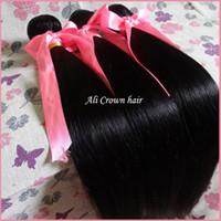 Wholesale Rosa Hair Virgin Human Hair Extension Unprocessed A Cheap Brazilian Peruvian Malaysian Indian Straight Hair Extensions Hair Bundles