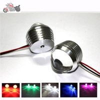 Wholesale clignotant led moto v intermitentes led moto universal motorcycle turn lights blinker cafe racer tail lights motocicleta colors