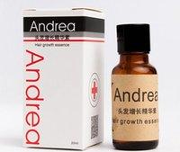 Wholesale Herbal Andrea Fast Hair Growth Essence alopecia hair loss treatment Ginger shampoo for sunburst yuda Hair Growth Pilatory Oil A5