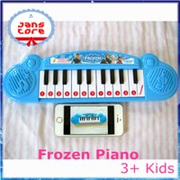 Wholesale Frozen Princess Piano Musical instruments toy Christmas gifts for kids Cartoon electronic organ toy music songs UPS