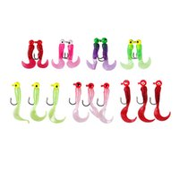 Wholesale 17pcs Value Pack Silicone Soft lead Head Fishing Hooks Lures Fishing Hook Pesca Fishing Tackle KL Online