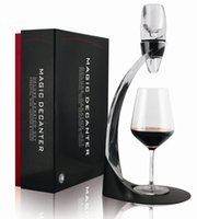 Wholesale ECO Friendly Magic Wine Decanter Set Red Wine Aerator Filter Wine Essential Equipment Gift With Gift Box