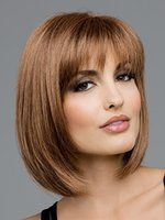 Wholesale Classics and fashion style synthetic wigs with straight bangs and quot cm length